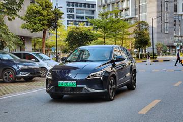 小鹏汽车摘得造车新势力首张新能源汽车专用号牌