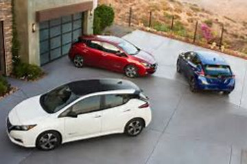 全球2月新能源乘用车销量排行:日产聆风杀回冠军