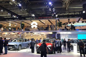 北京车展, 中国的新造车企业成为主力担当