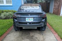 增产的代价?特斯拉Model 3保险杠扛不住30分钟暴雨