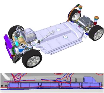 宝马电动汽车系统外轮廓
