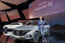 奔驰纯电 SUV EQC 全球首发 一头大象的笨拙转身