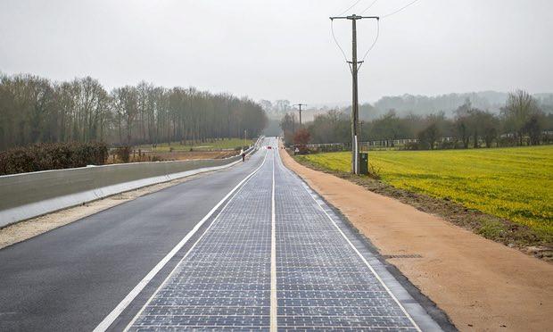 电动汽车,前瞻技术,太阳能道路,电动汽车动态充电技术