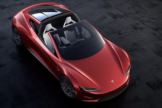 特斯拉新款跑车Roadster在华接受预订 订金133万