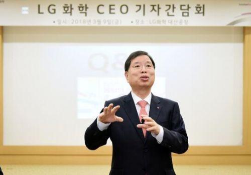 LG化学首席执行官Park Jin-soo