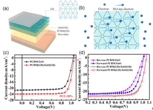 青岛能源所石墨炔掺杂提升钙钛矿电池性能研究获进展