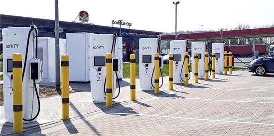 电动汽车,Ionity充电站,Ionity超快速充电站