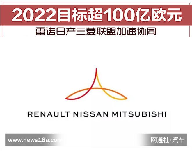 2022目标超100亿欧元 雷诺日产三菱联盟加速协同