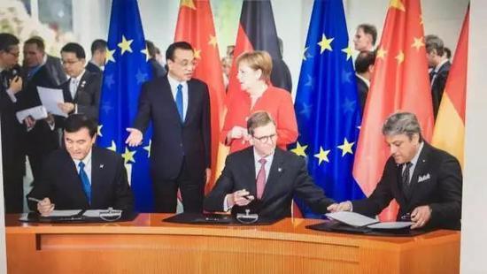 中德总理,自动驾驶