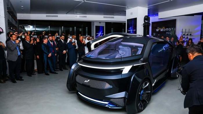 自动驾驶,阿联酋首辆自动驾驶汽车,阿联酋自动驾驶,迪拜自动驾驶,W Motors上海车展,2019年上海车展