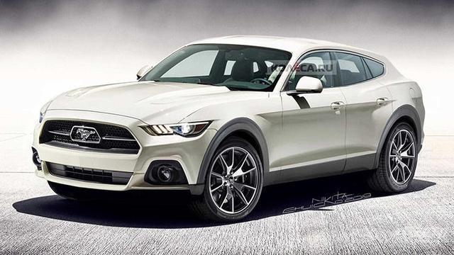 或2021年正式上市,纯电动福特 Mustang 旅行版假想图曝光