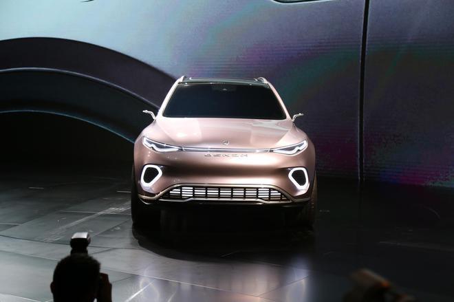 2019年深港澳车展 腾势Concept X概念车亮相