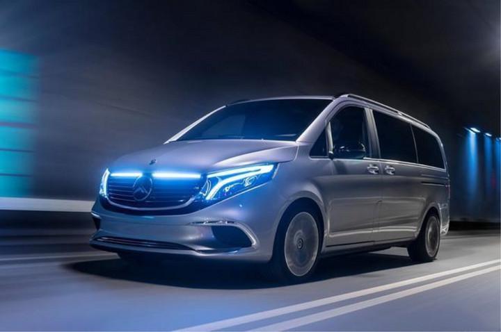 定位纯电动MPV 奔驰EQV将于9月份正式发布