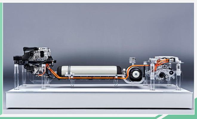 宝马氢燃料电池系统结构曝光 最早2025年量产