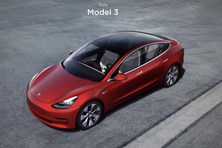 特斯拉Model 3/特斯拉官方