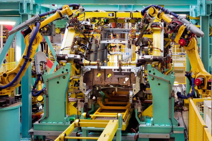 工业机器人,汽车制造,产业链,供应商,汽车主机厂