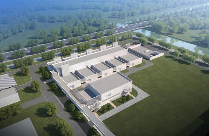 博世中国氢燃料电池中心平面图;图片来源:博世