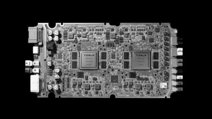 (特斯拉自动驾驶计算平台Hardware 3.0)