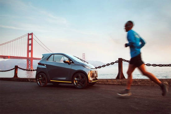 理想汽车首款低速小车SEV,图源:官方微博