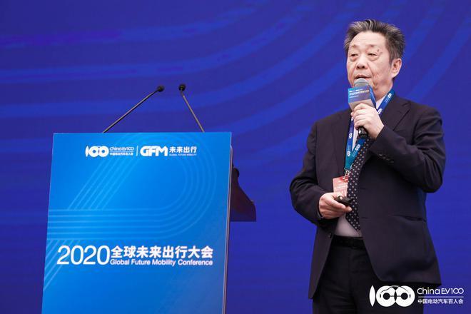 世界汽车组织第一副主席、中国电动汽车百人会副理事长董扬