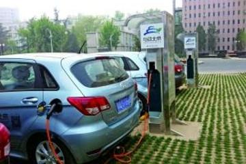 """合肥""""十分钟""""快速充电网正成型,电动汽车充电半小时搞定"""