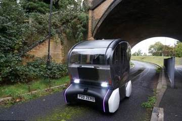 """无人驾驶""""豆荚车""""剑桥开启路试 有望投入夜间运行"""