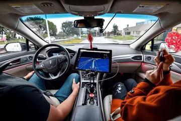 百度硅谷首次开放无人车试乘:上车前要先签免责书