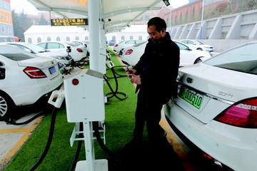 山东最大乘用车充电站落户青岛 日充电400辆车次