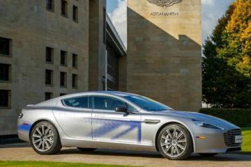 阿斯顿马丁正在华寻求电动汽车合资伙伴