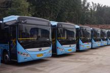 四川宜宾长宁首批15辆纯电动公交车开始运行