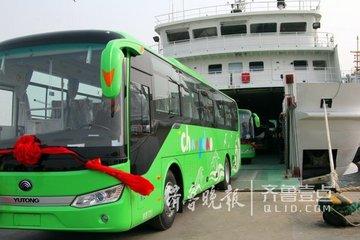 山东长岛公共交通将实现100%绿色化,5月1日正式投入运营