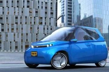 荷兰科学家开发新款环保电动汽车,9成组件均能降解