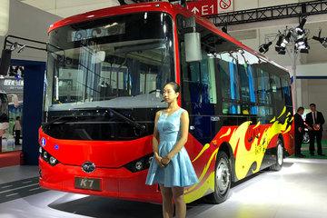 发力中型客车市场,比亚迪全新C7、K7纯电动客车首发上市