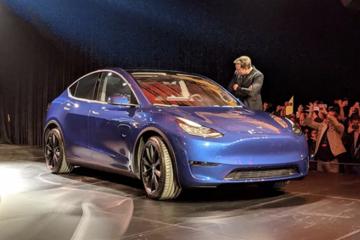 特斯拉Model Y全球首发 售价3.9万美元起 2020年底上市
