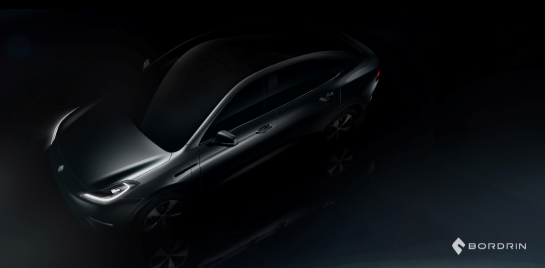 博郡汽车解密首款中高端智能电动跨界SUV最新局部造型图