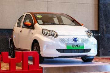 e系列发布 比亚迪抢占微型车市场