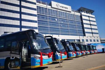 北京新添2790辆新能源公交 年底达93.7%