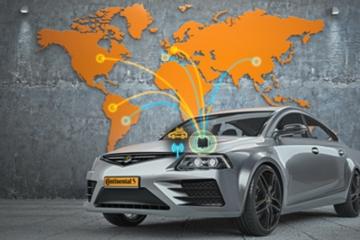 大陆集团研发全球5G混合式平台V2X解决方案