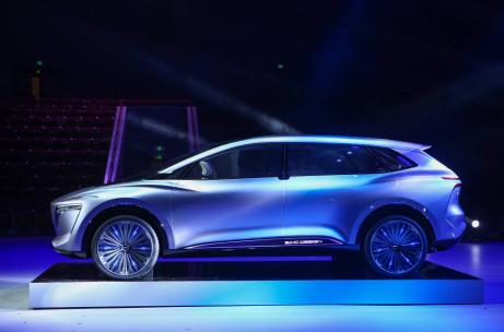 上汽荣威Vision-i概念车车展首秀,率先开启5G时代