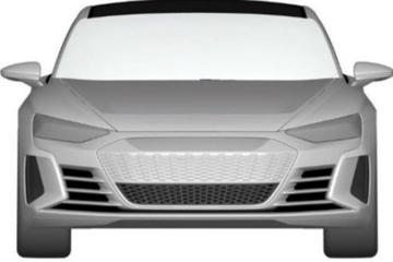 溜背设计/3.5秒破百 奥迪e-tron GT专利图曝光