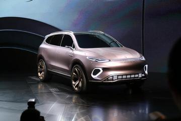 腾势全新概念车Concept X全球首发:将与奔驰并网销售