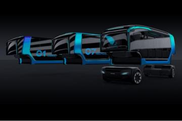 Scania展示NXT自动驾驶概念车 采用高度灵活部件设计