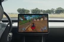 特斯拉发布车载《沙滩车竞速2》:用实车玩赛车游戏