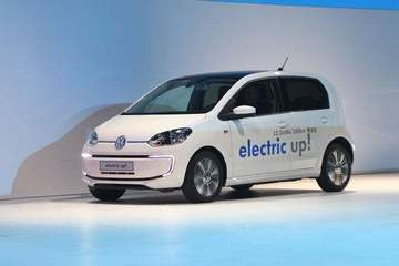 续航突破250km 全新一代大众e-up!明年初在欧洲销售