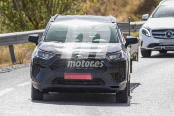 插混版丰田RAV4路试谍照曝出 预计2021年国产