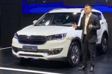 2019成都车展:捷途X70S EV补贴后售价14.98万元