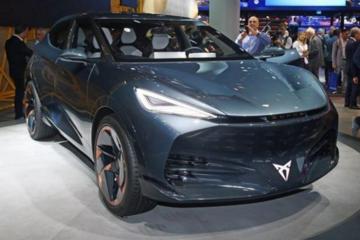 法兰克福全新电动SUV概念车Cupra Tavascan亮相