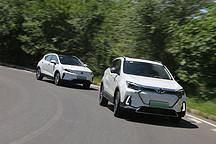实用运动谁兼顾? 北汽新能源EX5对比吉利帝豪GSe