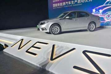 轮胎可360度转向 NEVS研发自动驾驶技术