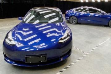特斯拉公布国产Model 3实车图 11月11日正式亮相